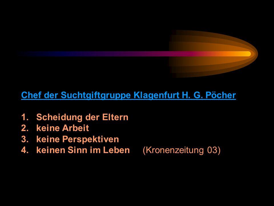 Chef der Suchtgiftgruppe Klagenfurt H. G. Pöcher 1