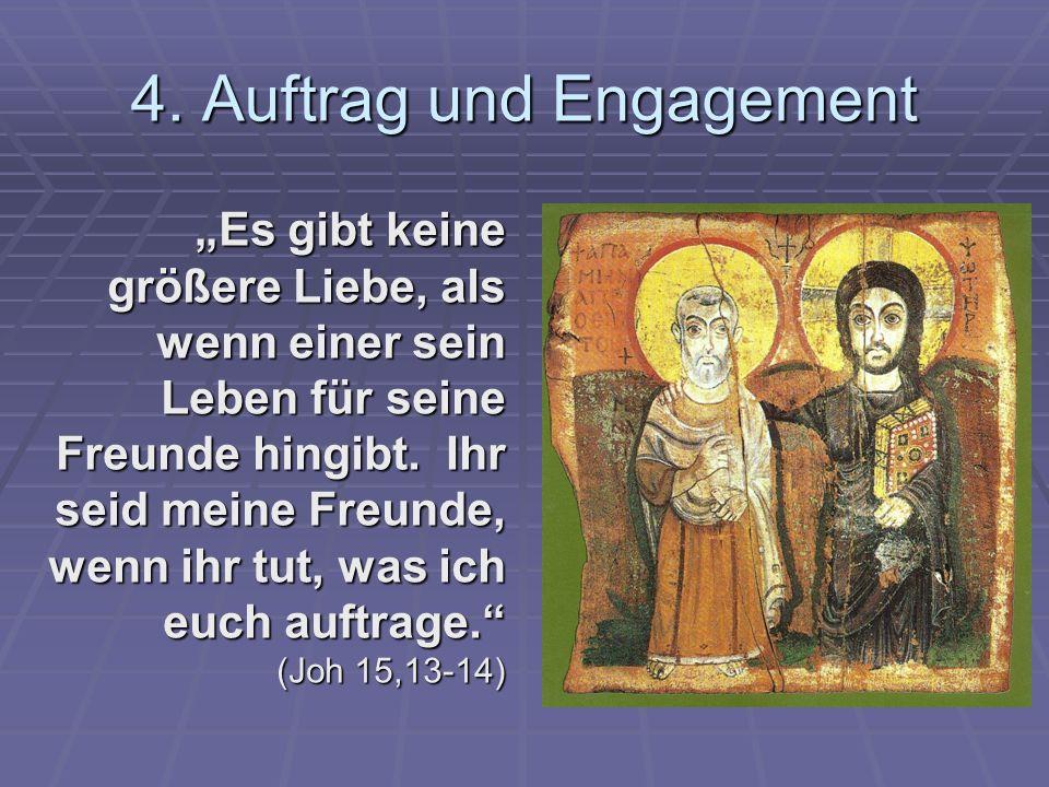 4. Auftrag und Engagement