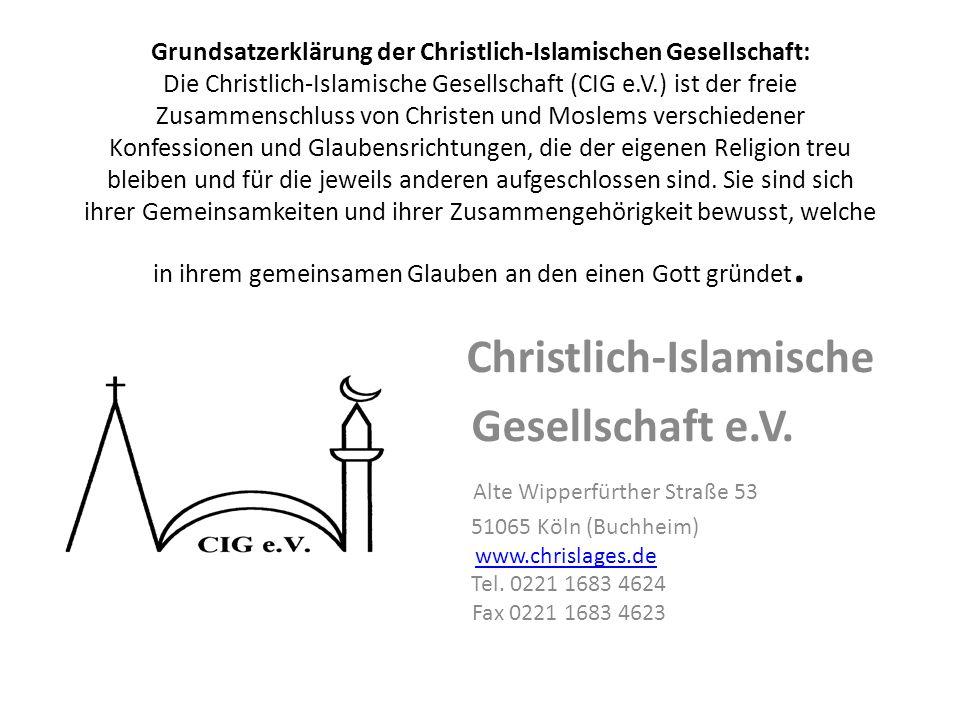 Christlich-Islamische