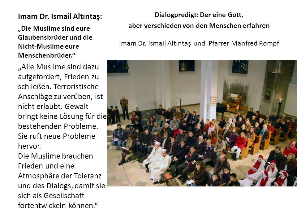 Imam Dr. Ismail Altıntaş: