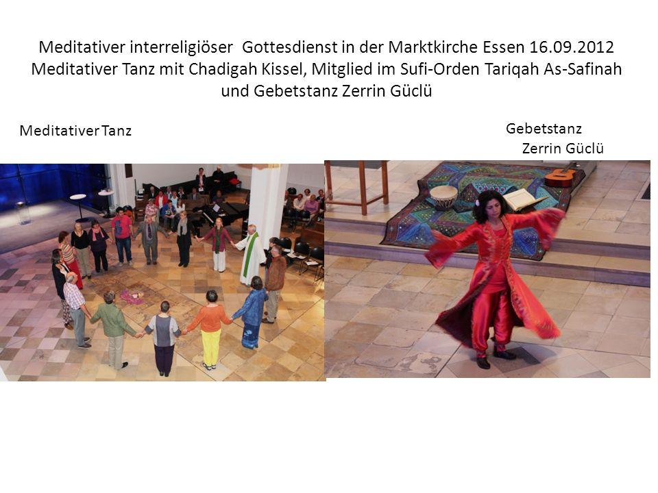 Meditativer interreligiöser Gottesdienst in der Marktkirche Essen 16