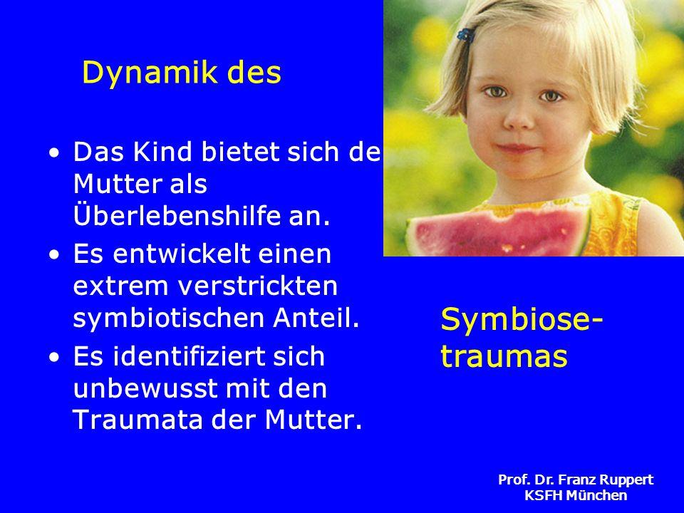 Dynamik des Symbiose-traumas