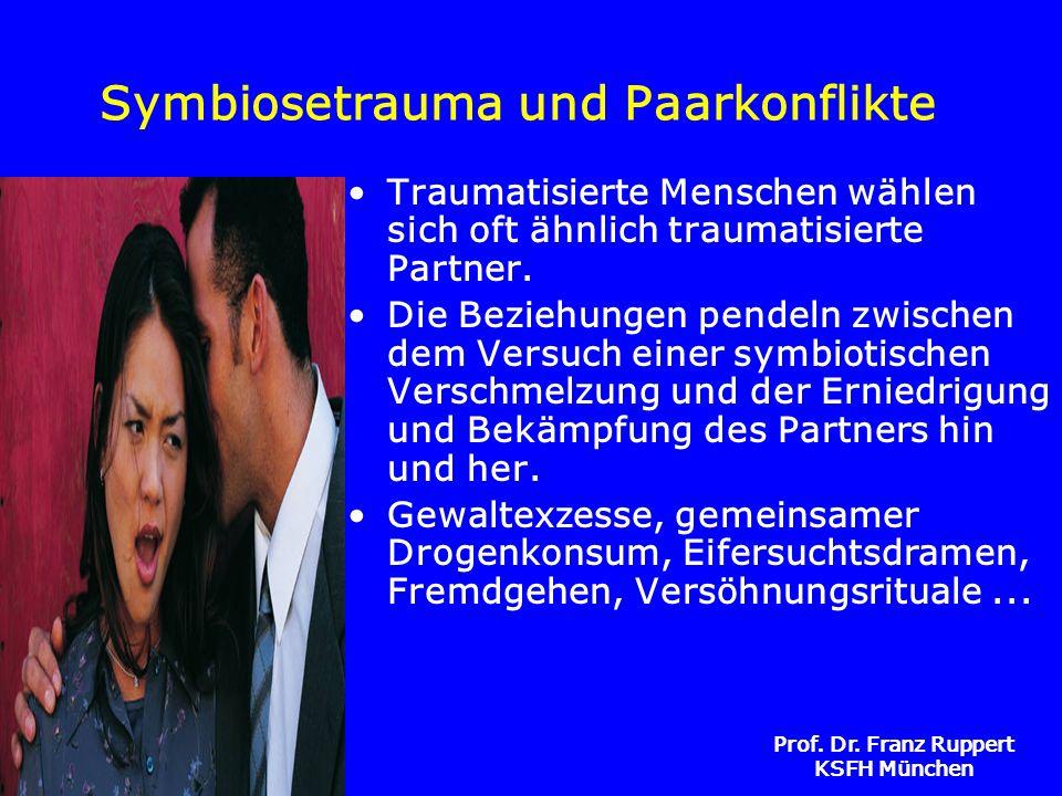 Symbiosetrauma und Paarkonflikte