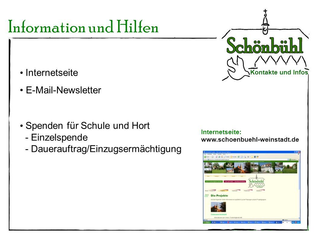 Information und Hilfen
