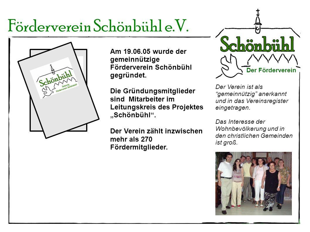 Förderverein Schönbühl e.V.