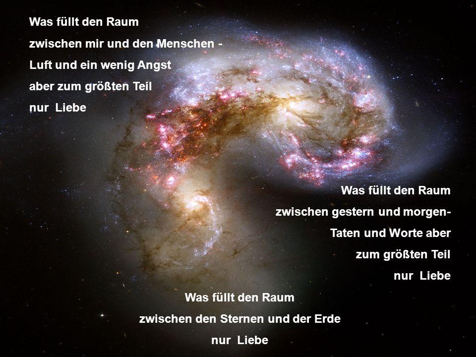 zwischen den Sternen und der Erde