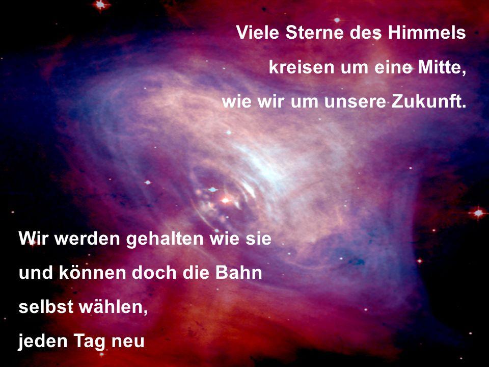 Viele Sterne des Himmels