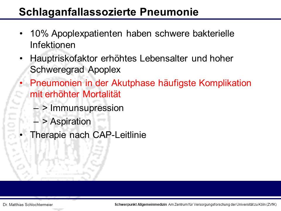 Schlaganfallassozierte Pneumonie