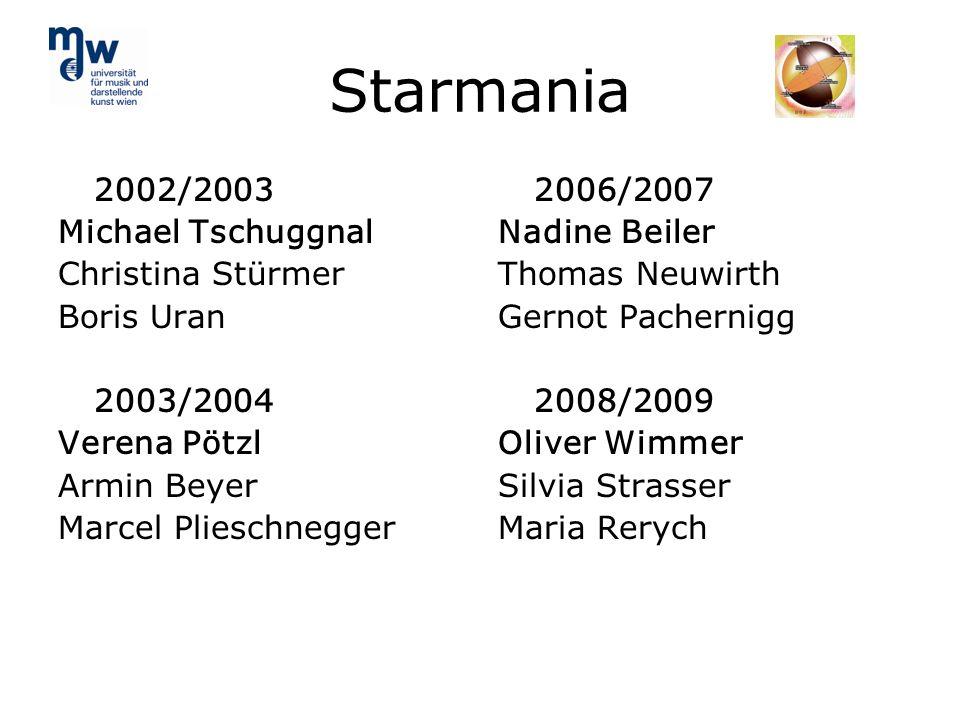 Starmania 2002/2003 Michael Tschuggnal Christina Stürmer Boris Uran