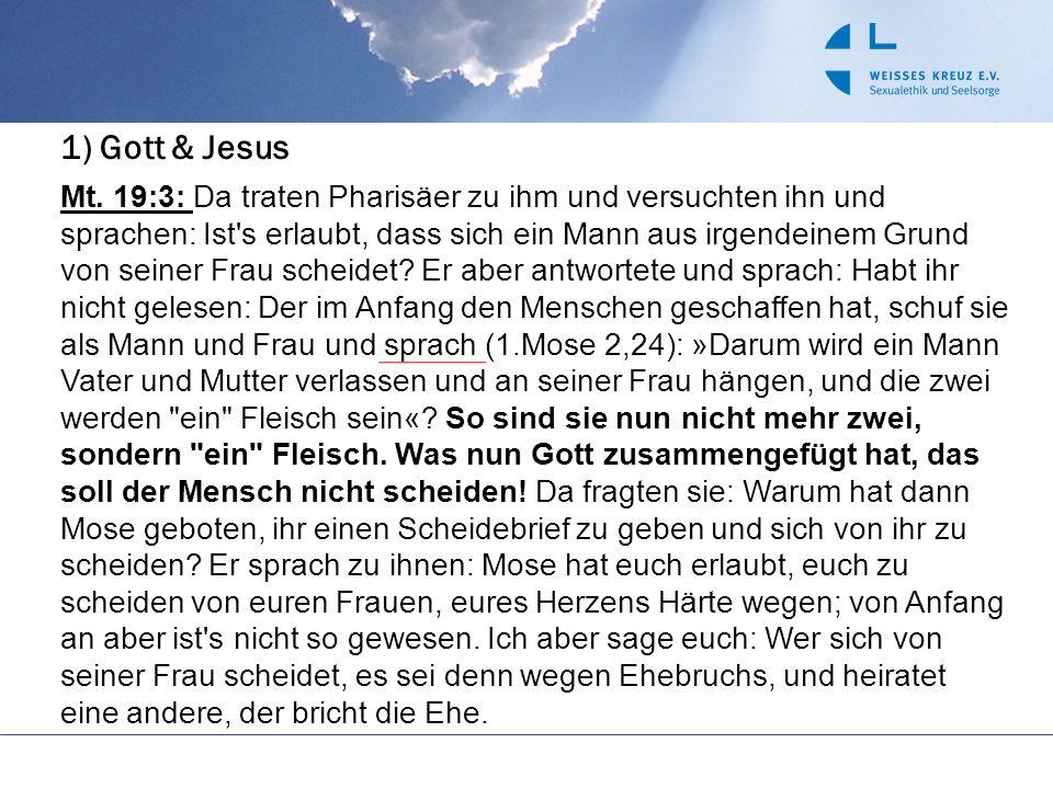 1) Gott & Jesus
