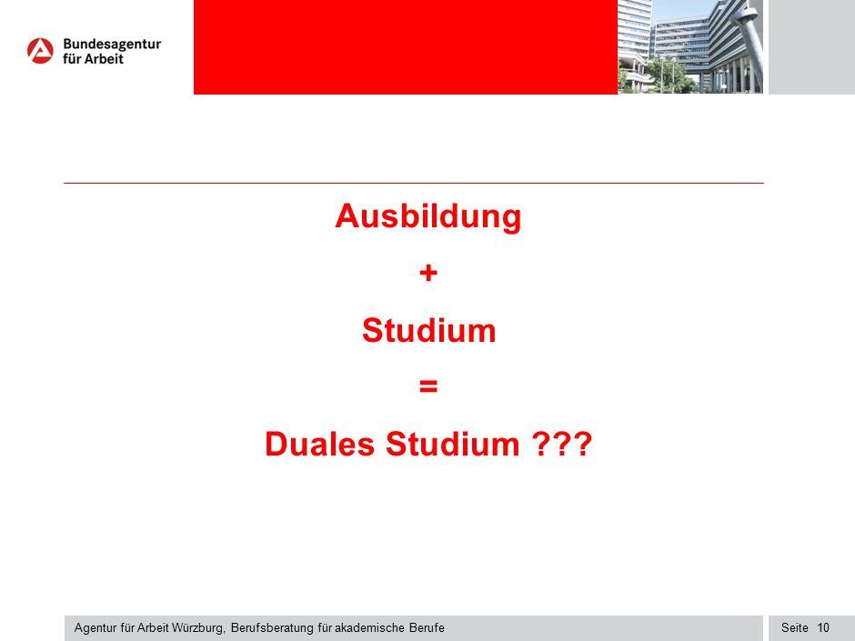 Duales Studium Duales Studium an einer Hochschule – in Kooperation mit einem Unternehmen, www.hochschule-dual.de oder www.dhbw.de.
