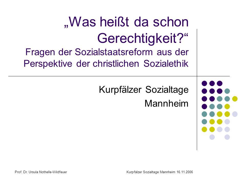 Kurpfälzer Sozialtage Mannheim