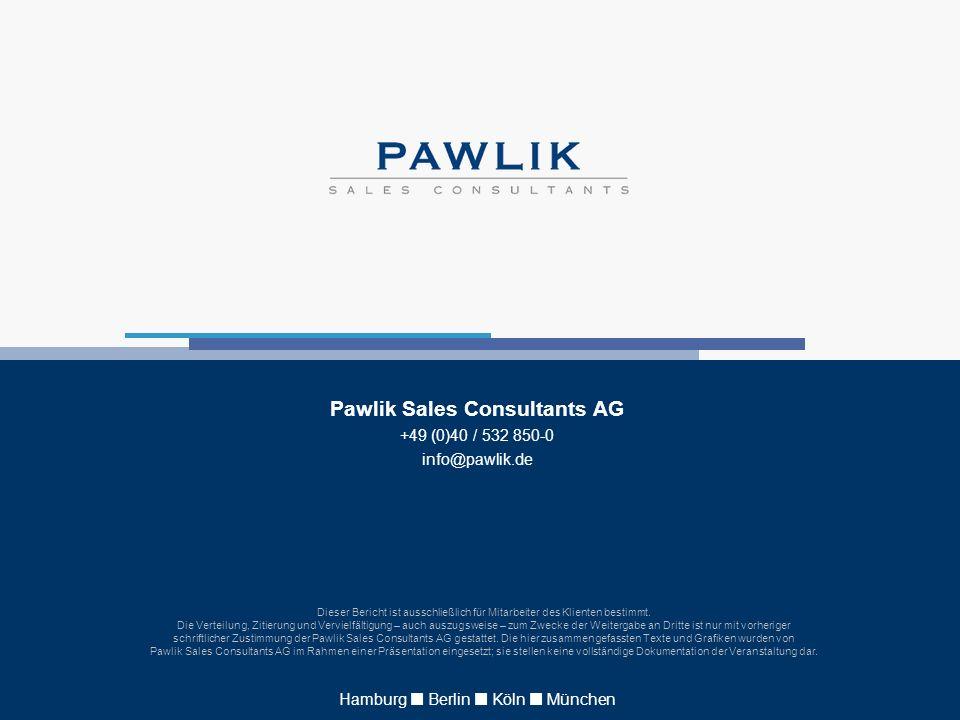 Pawlik Sales Consultants AG