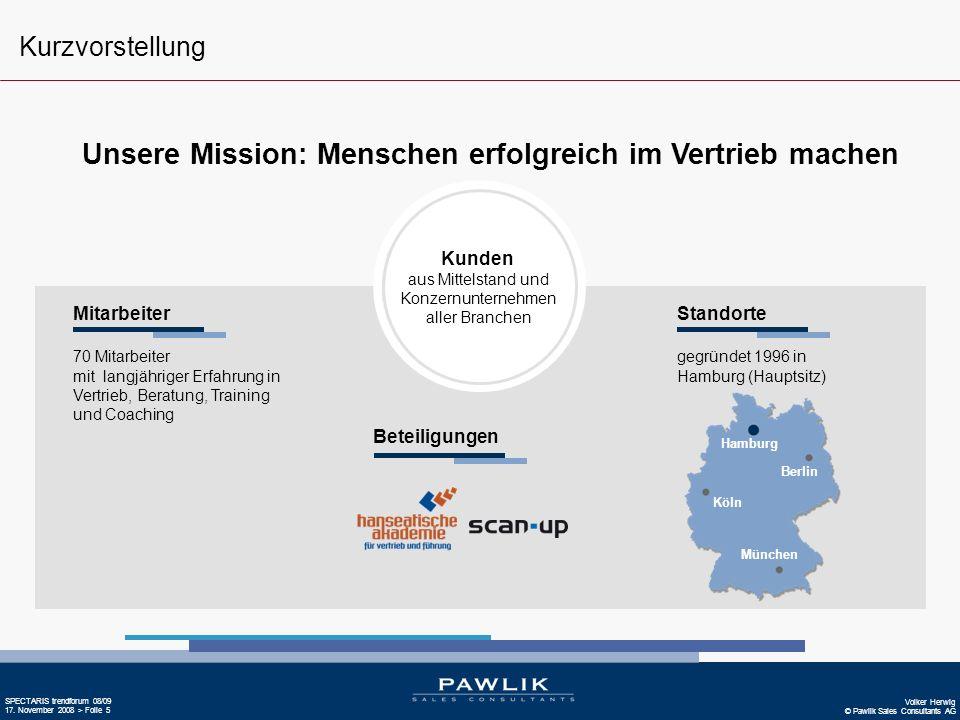 Unsere Mission: Menschen erfolgreich im Vertrieb machen
