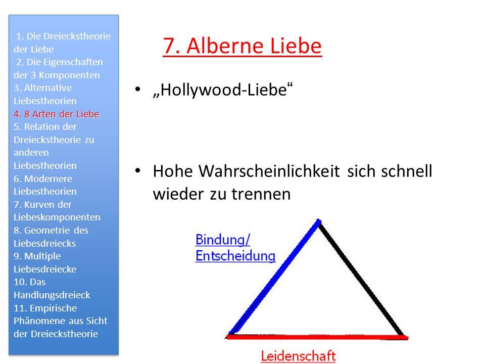 "7. Alberne Liebe ""Hollywood-Liebe"