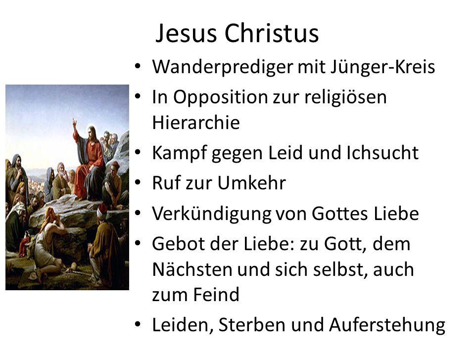 Jesus Christus Wanderprediger mit Jünger-Kreis