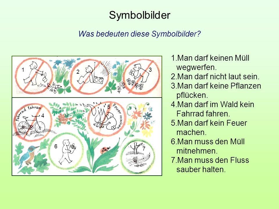 Was bedeuten diese Symbolbilder