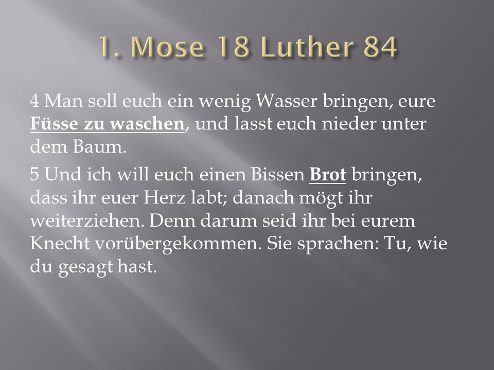 1. Mose 18 Luther 84