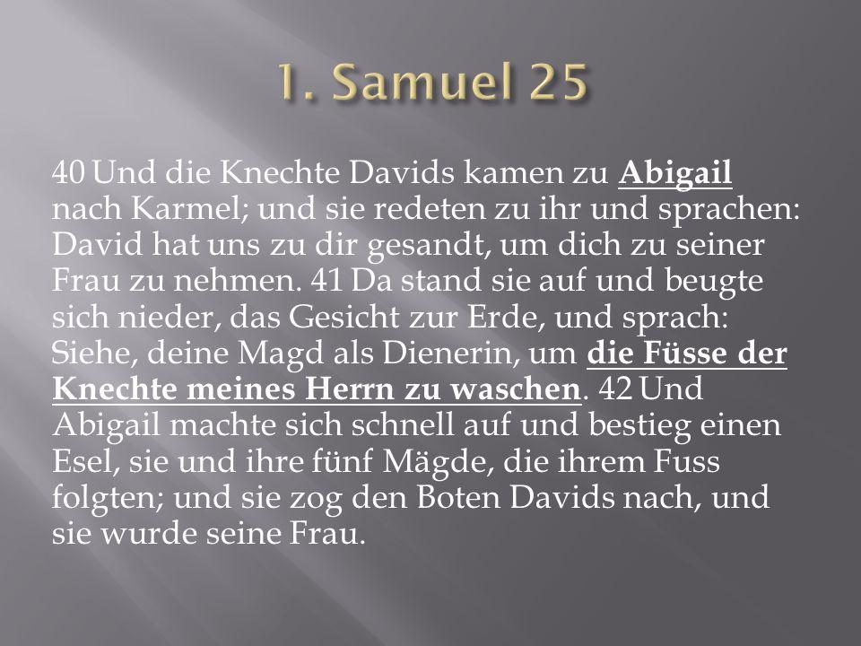 1. Samuel 25