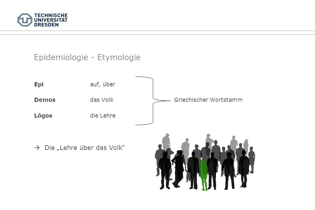 Epidemiologie - Etymologie