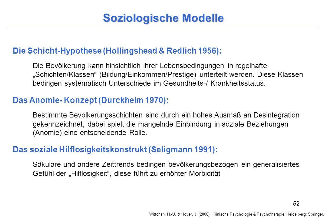 Soziologische Modelle