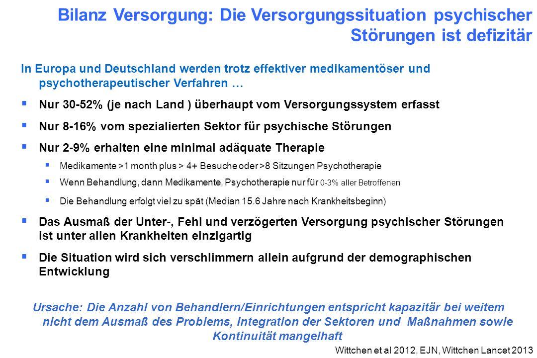 Wittchen et al 2012, EJN, Wittchen Lancet 2013