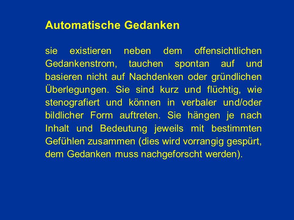 Automatische Gedanken