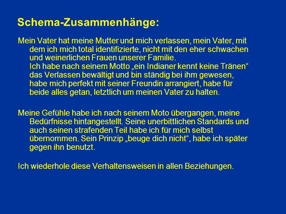 Schema-Zusammenhänge: