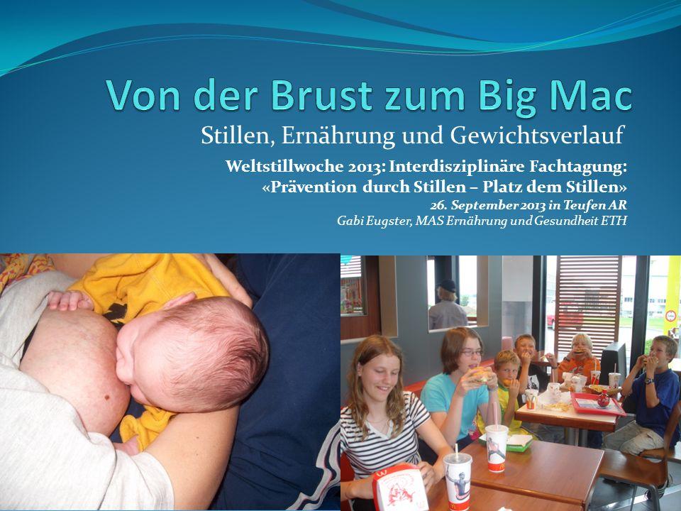 Von der Brust zum Big Mac