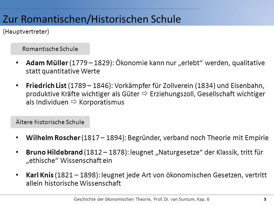 Zur Romantischen/Historischen Schule