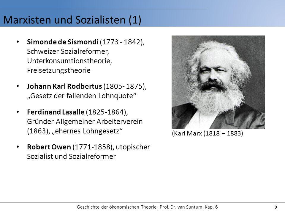 Marxisten und Sozialisten (1)