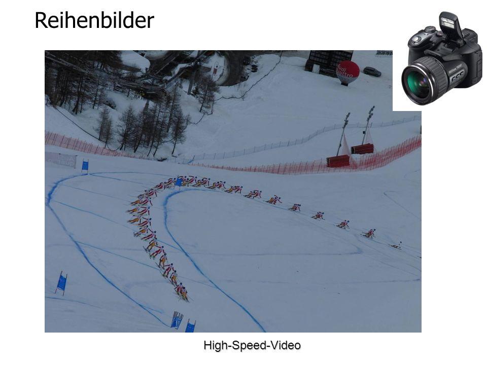 Reihenbilder High-Speed-Video