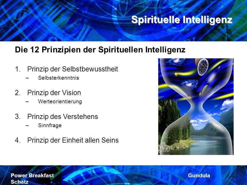 Die 12 Prinzipien der Spirituellen Intelligenz