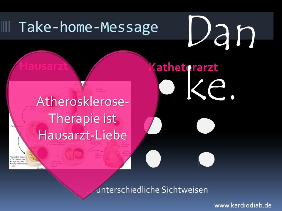 Atherosklerose-Therapie ist Hausarzt-Liebe