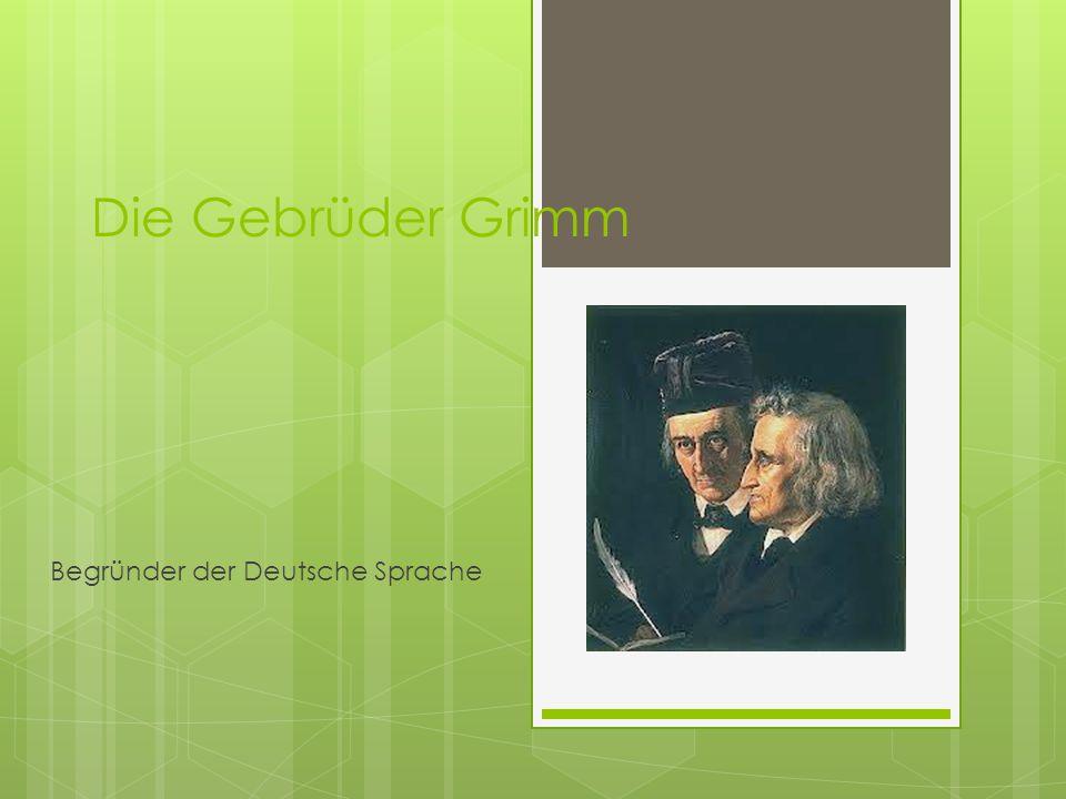 Begründer der Deutsche Sprache