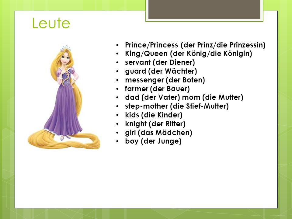 Leute Prince/Princess (der Prinz/die Prinzessin)