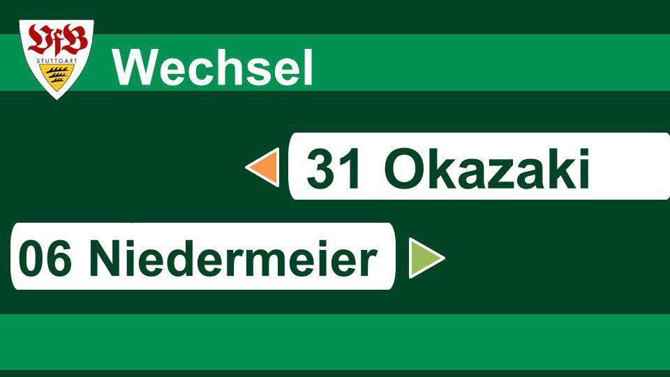 6767 6767 Wechsel 31 Okazaki s 06 Niedermeier 67