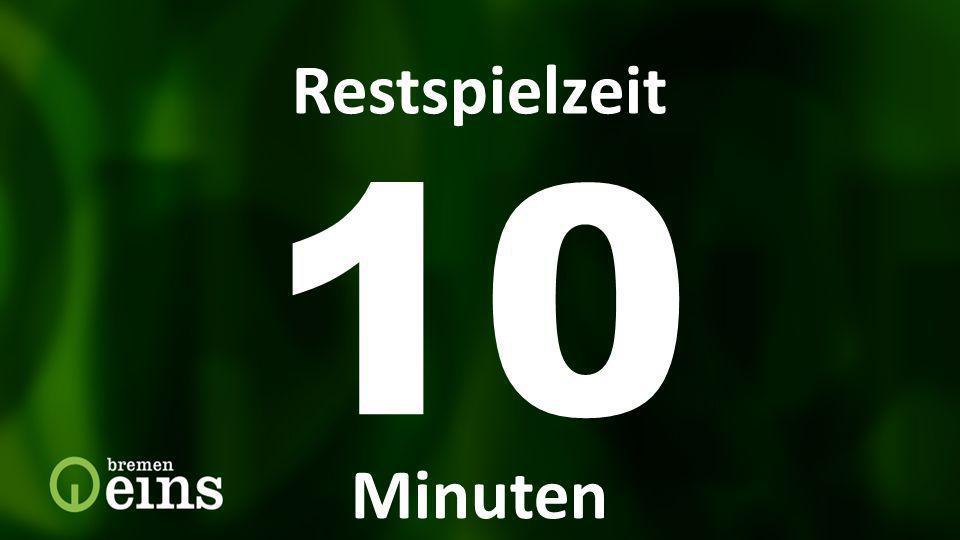 10 Restspielzeit Restspielzeit Minuten Restspielzeit 10 Min 7373 7373