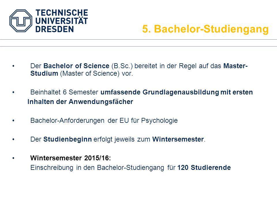 5. Bachelor-Studiengang