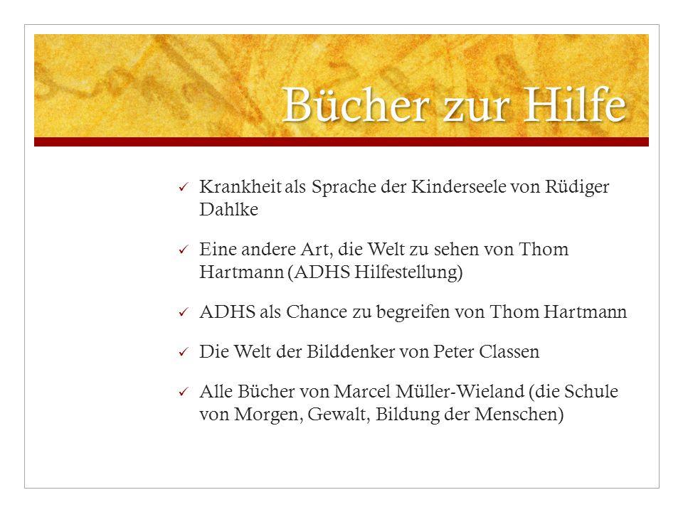 Bücher zur Hilfe Krankheit als Sprache der Kinderseele von Rüdiger Dahlke.