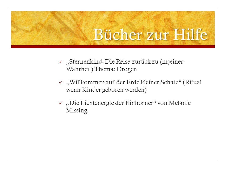 """Bücher zur Hilfe """"Sternenkind- Die Reise zurück zu (m)einer Wahrheit) Thema: Drogen."""