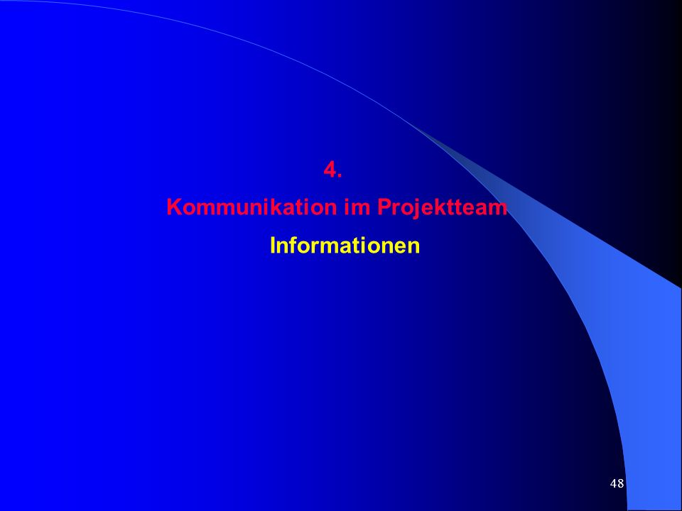 Kommunikation im Projektteam