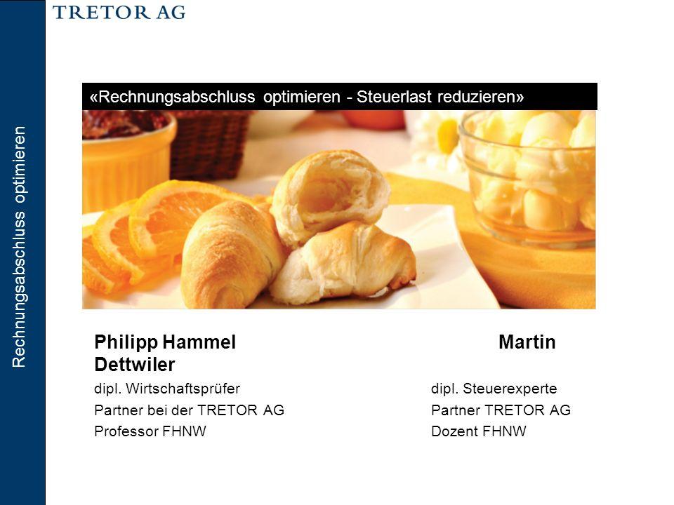 Rechnungslegung Philipp Hammel Martin Dettwiler