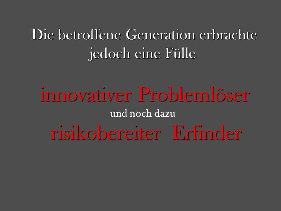 innovativer Problemlöser und noch dazu