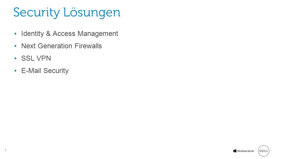Security Lösungen Identity & Access Management