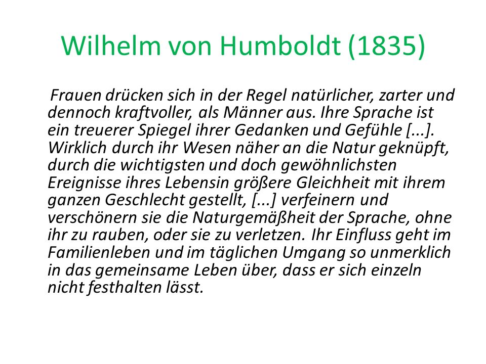 Wilhelm von Humboldt (1835)