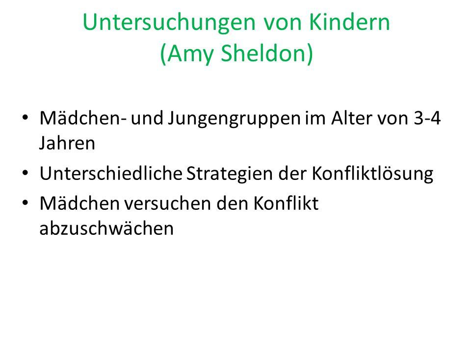 Untersuchungen von Kindern (Amy Sheldon)