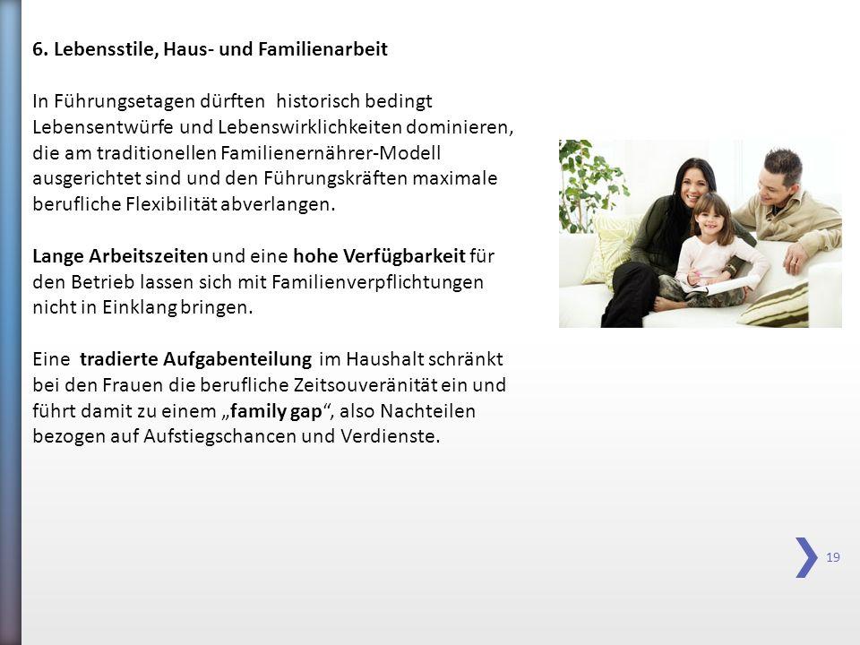 6. Lebensstile, Haus- und Familienarbeit