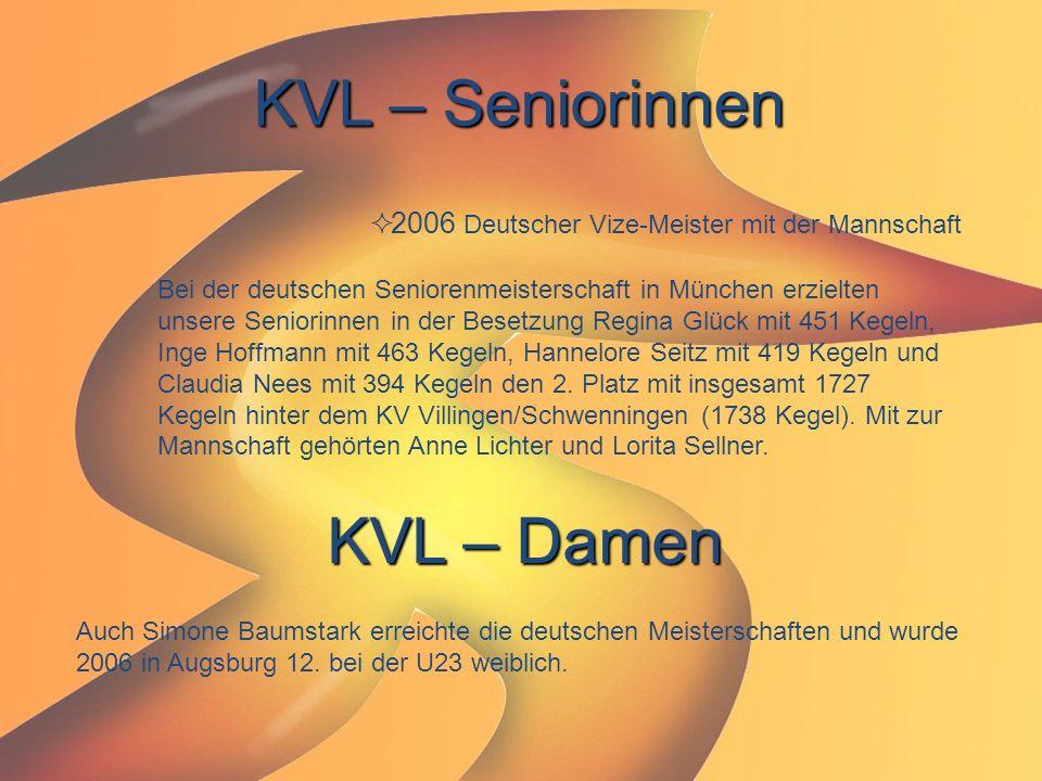 KVL – Seniorinnen KVL – Damen