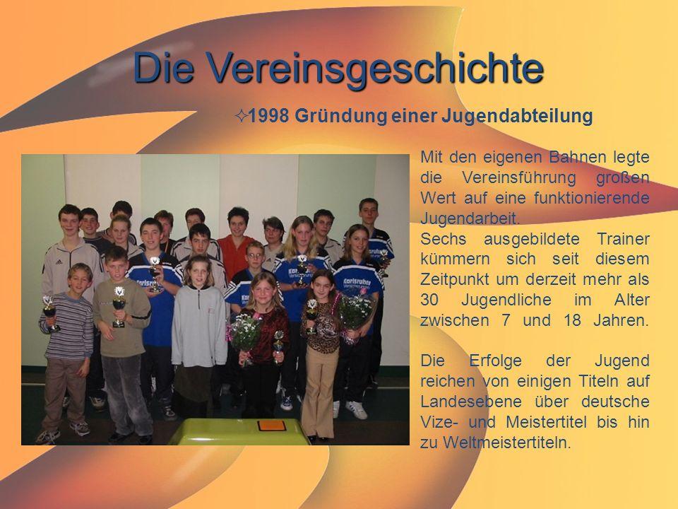 Die Vereinsgeschichte